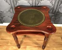 Victorian Walnut Games Card  Table (8 of 11)