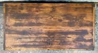Large 19thc Swedish Country House Robust Painted Pine Storage Coffer Chest (6 of 18)