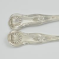 Fine Cased Set Of Victorian Silver Fish Servers 1867 (9 of 11)