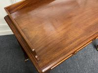 Victorian 2 Drawer Writing Table or Desk (12 of 16)