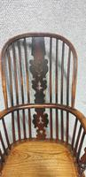 Tall Yew Wood Windsor Chair (2 of 6)