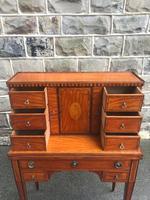 Antique Inlaid Satinwood Ladies Writing Desk (13 of 15)