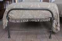 Lovely Simple Pair of Utilitarian Single Iron Beds (5 of 8)