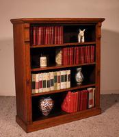 Open Bookcase in Light Oak 19th Century - England (10 of 11)