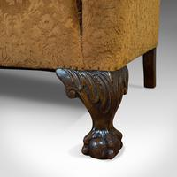 Antique Queen Anne Style Sofa, English, Two Seat Settee, Victorian, Circa 1880 (7 of 10)