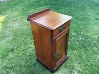 Victorian Mahogany Bedside Cabinet (3 of 4)