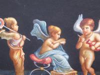 Watercolour Mischievous Putti Listed Artist E P Fenderico (13 of 14)