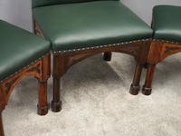 Suite of Late 19th Century Gothic Stools (5 of 8)