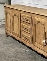 French Bleached Oak Sideboard or Dresser Base (5 of 23)