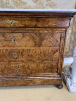 18th Century Burr Walnut Commode (4 of 9)