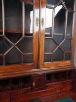Antique George III Mahogany Bureau Bookcase (8 of 12)