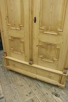 Fabulous & Large Old Pine Double 'Knock Down' Wardrobe - We Deliver! (17 of 18)