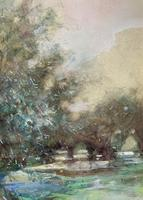 Thomas William Morley Bonhams Prov Kent Country watercolour Painting (3 of 12)