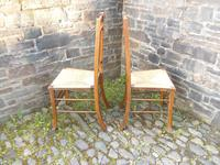 Pair of Arts & Crafts Scottish Chairs by E.A.Taylor (8 of 10)
