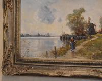 Oil Painting by Alfred Sanderson Edward RBA (5 of 9)
