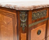 Scandinavian Commode Marquetry Chest of Drawers c.1920 (10 of 15)