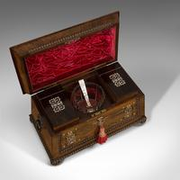 Ornate Antique Tea Caddy, English, Rosewood, Sarcophagus, Chest, Regency c.1820 (5 of 12)