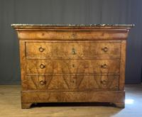 Large Louis Philippe Walnut Commode (3 of 12)