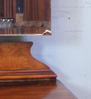 Burr Walnut Queen Anne Style Triple Mirror Dressing Table (6 of 13)