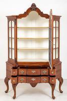 Superb Walnut Dutch Display Cabinet (3 of 11)