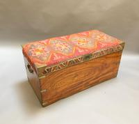 Campaign Camphor Trunk Chest (7 of 14)