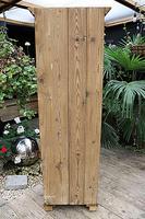 Gorgeous Old Stripped Pine Cupboard / Cabinet / Wardrobe - Hall / Linen / Larder (11 of 11)