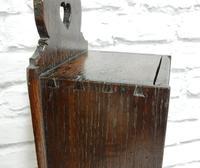 Oak Candle Box - Georgian (5 of 5)