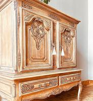 French Antique Style Cabinet / Louis XV / Cupboard / Sideboard / Drinks Cabinet (2 of 7)