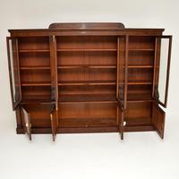Antique George IV Mahogany Dwarf Bookcase (3 of 11)