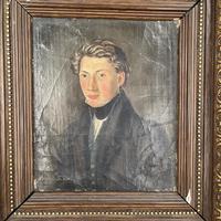 Antique Belgian Flemish Oil Painting Portrait of Polydoor Lippens (4 of 10)
