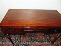 Late Georgian Mahogany Dressing Table (2 of 7)