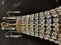 French Antique Empire Chandelier with 3 Internal Lights (8 of 13)