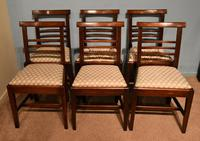 Handsome Set of Six George III Sheraton