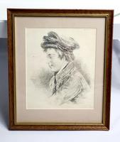Pencil Sketch of Victorian Boy (2 of 4)