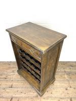 Early 20th Century Antique Oak Wine Rack (5 of 9)