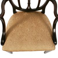 Pair of Hepplewhite Style Elbow Chairs (6 of 8)