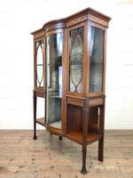 Antique Glazed Display Cabinet (10 of 14)