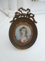 Artist Anthony Vandyke Copley Fielding Miniature of Alice Birket Foster (8 of 11)