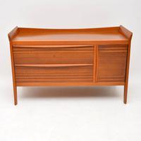 1950's Vintage Walnut Sideboard (3 of 11)