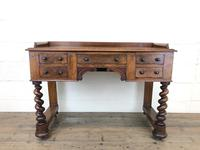 Antique Mahogany Desk with Barley Twist Supports (2 of 13)