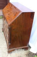 1960s Large Well Fitted Mahogany Bureax with Secret Drawer (5 of 6)