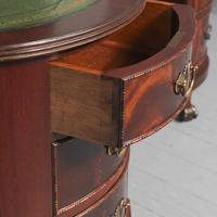 Georgian Style Kidney Shaped Desk by Justice & Sons (7 of 11)