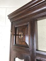 Antique Edwardian Mahogany Mirror Hall Stand (8 of 9)