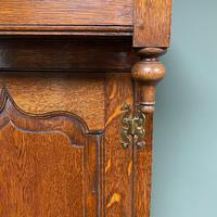 Magnificent Georgian Period Oak Cwpwrdd Deuddarn Cupboard (2 of 8)