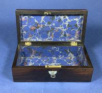 William IV Rosewood Glove Box  With Inlay (12 of 12)