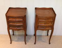 Pair of French Oak Bedside Cabinets (3 of 9)