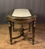 Napoleon III Giltwood Library or Sofa Table (7 of 13)