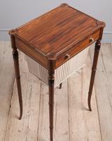 Regency Mahogany Work Table (2 of 6)