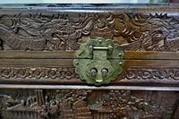 Carved Oriental Camphor Wood Chest (4 of 8)