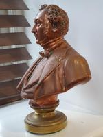Superb Rare Large 19th Century Photo Sculpture Copper Bust by Willeme (3 of 11)